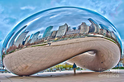 Nikki Vig Royalty-Free and Rights-Managed Images - Chicago Bean by Nikki Vig
