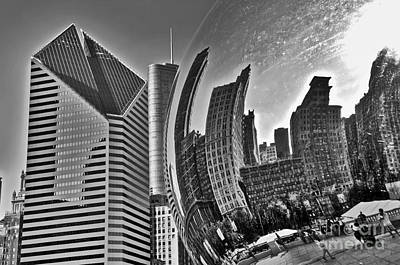 Photograph - Chicago Bean  by Sarah Mullin