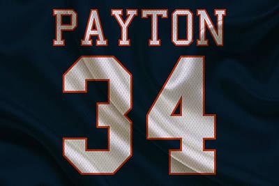 Walter Payton Photograph - Chicago Bears Walter Payton by Joe Hamilton