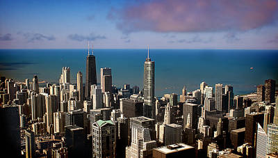 Photograph - Chicago Before Sunset by Milena Ilieva