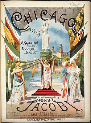 Chicago Print by British Library