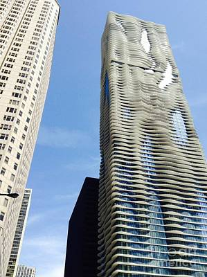 Photograph - Chicago Buildings by Susan Townsend