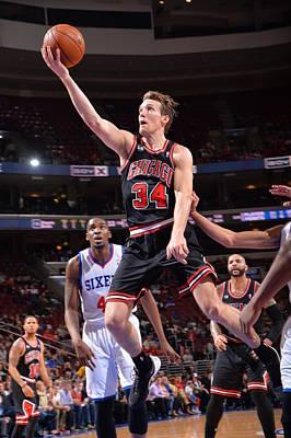 Photograph - Chicago Bulls  V Philadelphia 76ers by Jesse D. Garrabrant