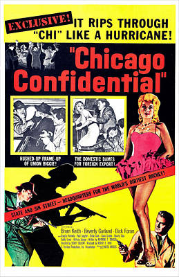 Chicago Confidential, Us Poster, Jack Art Print by Everett
