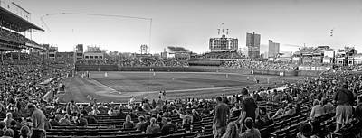 Wrigley Field Digital Art - Chicago Cubs 5 Minutes Till Game Time by Thomas Woolworth