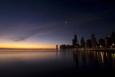 Chicago Dawn 2 Art Print