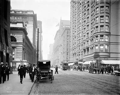 Behm Photograph - Chicago Dearborn, C1907 by Granger