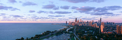 Chicago, Diversey Harbor Lincoln Park Print by Panoramic Images
