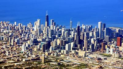 Photograph - Chicago Downtown by J.castro