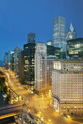 Photograph - Chicago Downtown by Marcaux