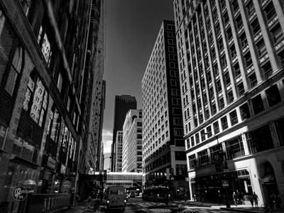 Photograph - Chicago - E Madison Street 001 by Lance Vaughn
