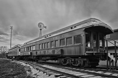 Chicago Eastern Illinois Rr Car Art Print by Thomas Woolworth