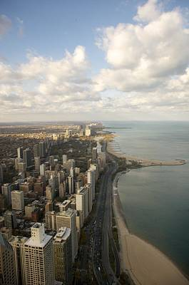Photograph - Chicago From Above by Sheryl Thomas