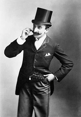 Pant Suit Photograph - Chicago Gentleman, 1891 by Granger