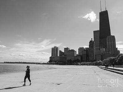 Royalty-Free and Rights-Managed Images - Chicago Gold Coast Beach by Jannis Werner