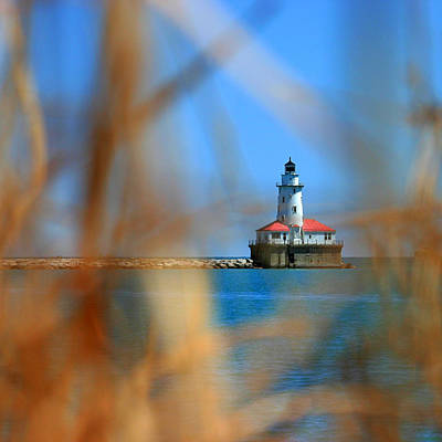 Photograph - Chicago Harbor Lighthouse by Daniel Woodrum