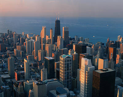 Chicago Skyline Photograph - Chicago II by Christian Heeb