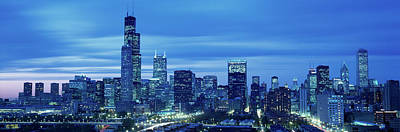 Chicago Il Photograph - Chicago Il Usa by Panoramic Images