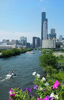 Chicago, Illinois Skyline Art Print