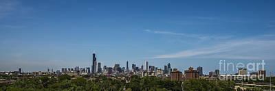 Chicago Illinois Skyline Art Print by David Haskett