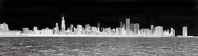 Chicago In Black And White Original