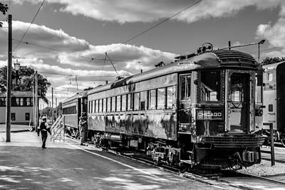 Photograph - Chicago Interurban by Randy Scherkenbach