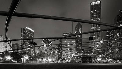Chicago - Jay Pritzker Pavilion  Art Print by Jackie Novak