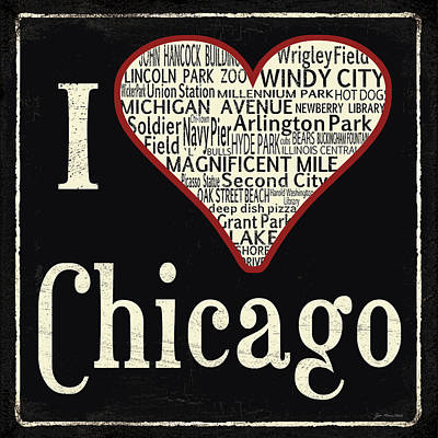 Chicago Painting - Chicago by Jo Moulton