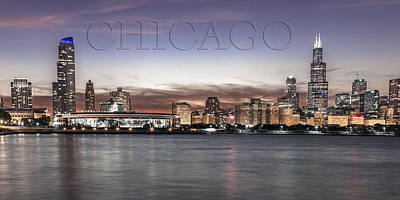 Chicago Skyline Photograph - Chicago  by John McGraw