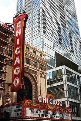 Photograph - Chicago by John Rizzuto