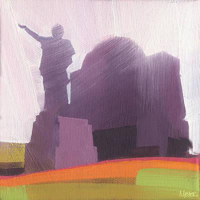 Chicago Landmark Painting - Chicago Karel Havlicek 37 Of 100 by W Michael Meyer