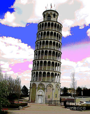 Photograph - Chicago Leaning Tower Of Pisa by Larry Oskin