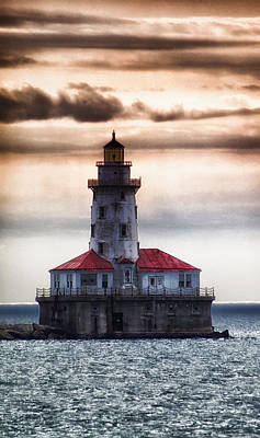 Chicago Lighthouse 3 Art Print by Christopher Muto
