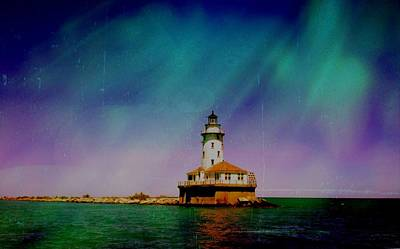 Photograph - Chicago Lighthouse by Lora Mercado