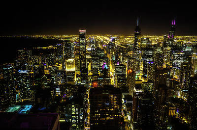 Photograph - Chicago Lights by Paul Camhi