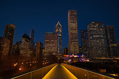 Chicago Lights Original by Steve Gadomski