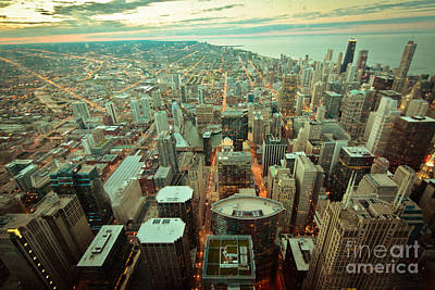 Chicago Ligths Art Print