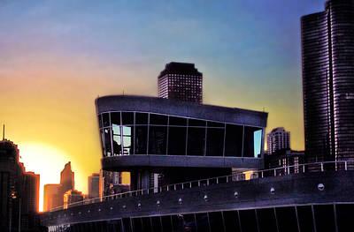 Photograph - Chicago Lock Tower by John Hansen
