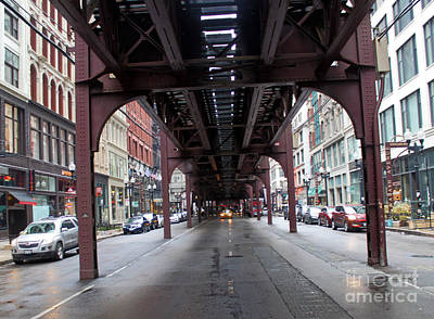 Photograph - Chicago Loop by Gregory Dyer