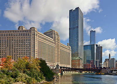 Travel Pics Royalty-Free and Rights-Managed Images - Chicago Merchandise Mart by Christine Till