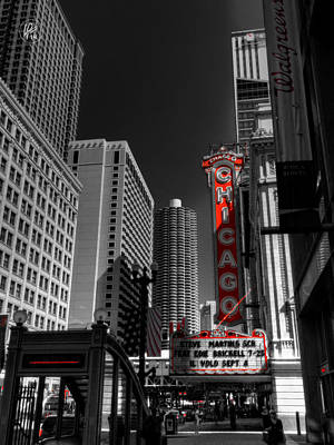 Photograph - Chicago - N State Street 001 by Lance Vaughn
