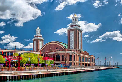 Painting - Chicago Navy Pier by Christopher Arndt