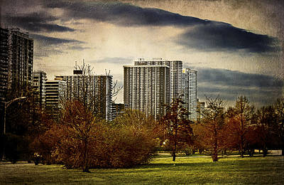 Photograph - Chicago Neighborhood by Milena Ilieva