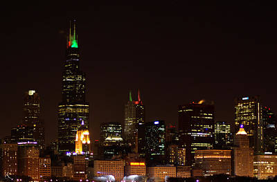 Photograph - Chicago Night by Kelly Smith