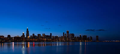 Chicago Night Original by Steve Gadomski