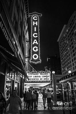 Photograph - Chicago Nights by Terry Rowe