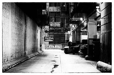 Photograph - Chicago Noir by John Rizzuto