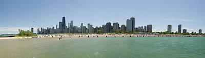 Chicago North Avenue Beach Original by Patrick  Warneka