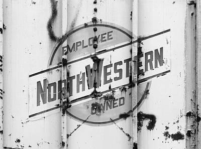 Photograph - Chicago Northwestern Grain Car by Joseph C Hinson Photography
