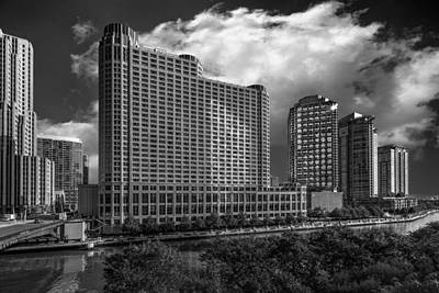 Photograph - Chicago On The River by Erwin Spinner